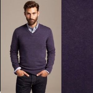 Banana Republic Luxury Blend V-Neck Sweater